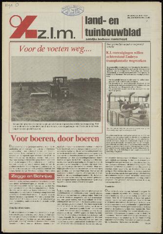 Zeeuwsch landbouwblad ... ZLM land- en tuinbouwblad 1981-06-26