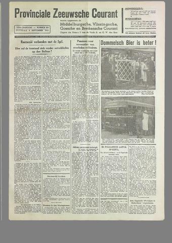 Provinciale Zeeuwse Courant 1940-09-03