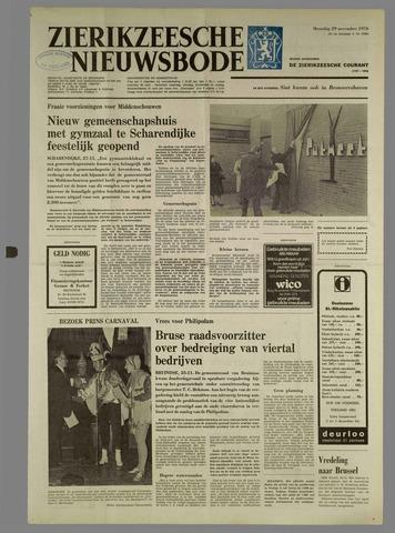 Zierikzeesche Nieuwsbode 1976-11-29