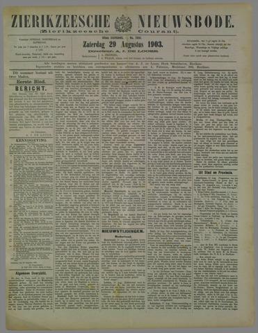 Zierikzeesche Nieuwsbode 1903-08-29