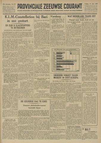Provinciale Zeeuwse Courant 1949-06-24