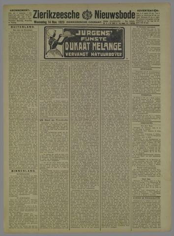 Zierikzeesche Nieuwsbode 1923-11-14