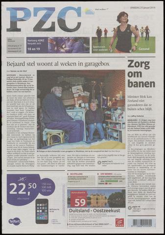 Provinciale Zeeuwse Courant 2014-01-21