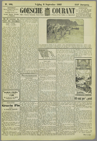 Goessche Courant 1927-09-02