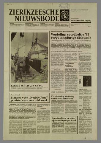 Zierikzeesche Nieuwsbode 1984-08-30