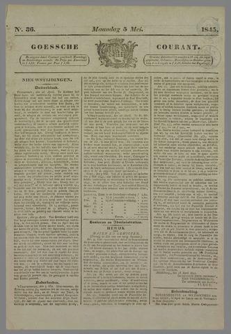 Goessche Courant 1845-05-05
