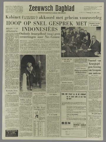 Zeeuwsch Dagblad 1962-03-13