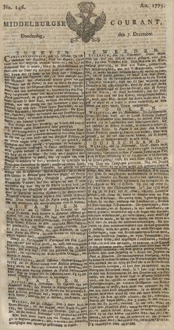 Middelburgsche Courant 1775-12-07