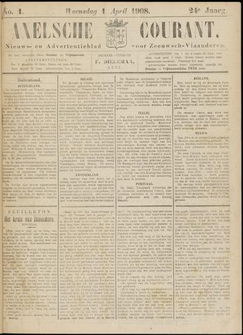 Axelsche Courant 1908-04-01