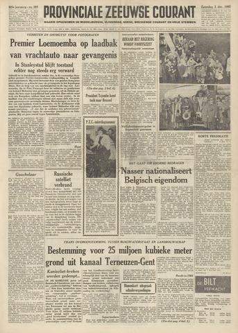 Provinciale Zeeuwse Courant 1960-12-03