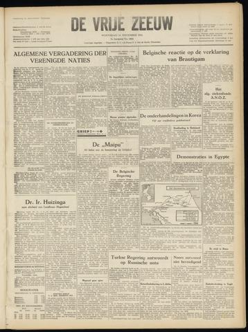 de Vrije Zeeuw 1951-11-14
