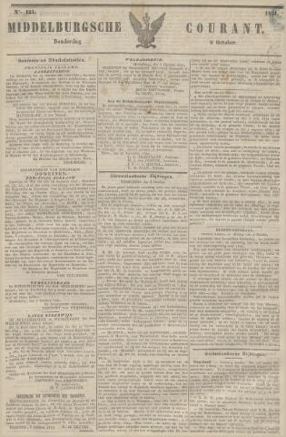 Middelburgsche Courant 1851-10-09