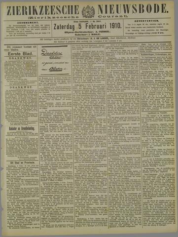 Zierikzeesche Nieuwsbode 1910-02-05