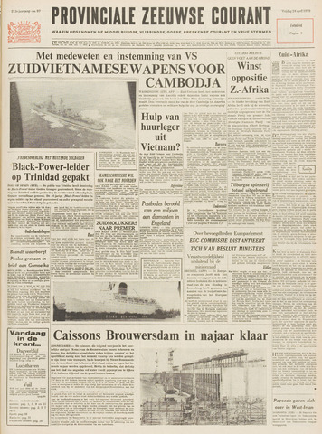 Provinciale Zeeuwse Courant 1970-04-24