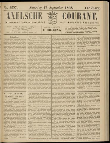 Axelsche Courant 1898-09-17