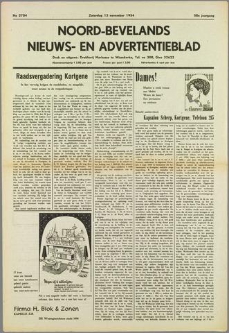 Noord-Bevelands Nieuws- en advertentieblad 1954-11-13
