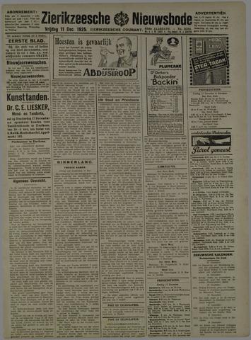 Zierikzeesche Nieuwsbode 1925-12-11