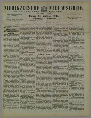 Zierikzeesche Nieuwsbode 1903-11-24