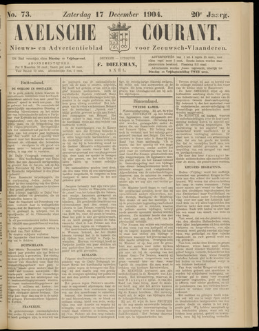 Axelsche Courant 1904-12-17