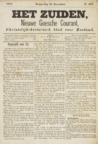 Het Zuiden, Christelijk-historisch blad 1880-11-25