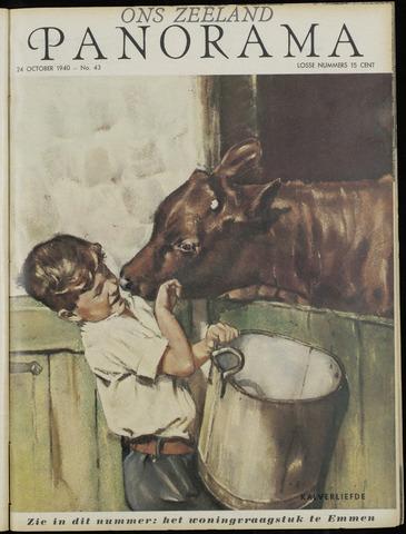 Ons Zeeland / Zeeuwsche editie 1940-10-24