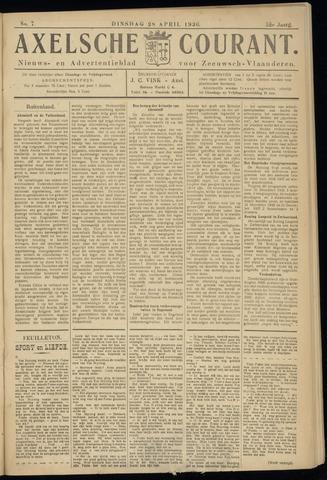 Axelsche Courant 1936-04-28