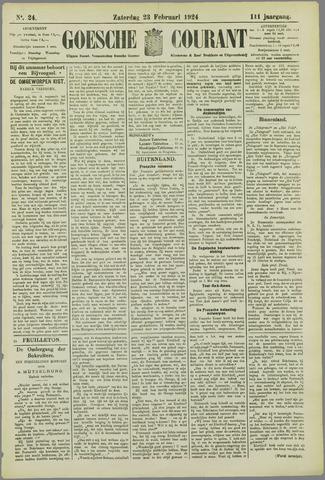 Goessche Courant 1924-02-23
