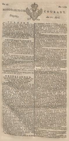 Middelburgsche Courant 1780-04-11