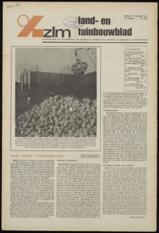 Zeeuwsch landbouwblad ... ZLM land- en tuinbouwblad 1975-10-17