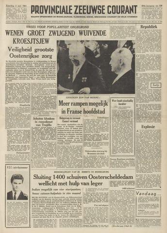 Provinciale Zeeuwse Courant 1961-06-03