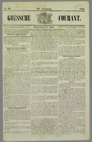 Goessche Courant 1862-04-17
