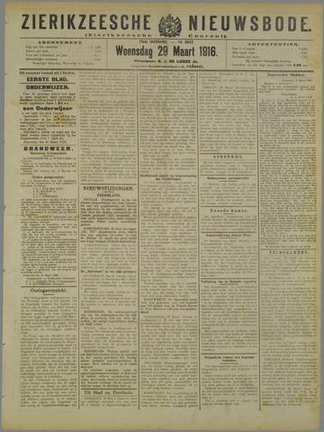 Zierikzeesche Nieuwsbode 1916-03-29