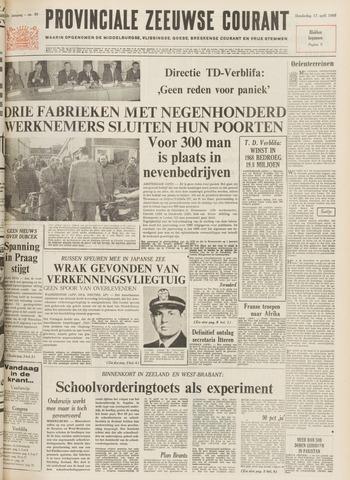 Provinciale Zeeuwse Courant 1969-04-17