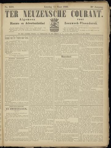 Ter Neuzensche Courant. Algemeen Nieuws- en Advertentieblad voor Zeeuwsch-Vlaanderen / Neuzensche Courant ... (idem) / (Algemeen) nieuws en advertentieblad voor Zeeuwsch-Vlaanderen 1890-03-15