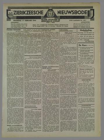 Zierikzeesche Nieuwsbode 1941-02-17