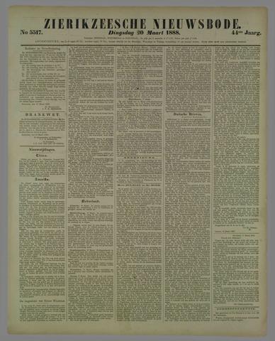 Zierikzeesche Nieuwsbode 1888-03-20