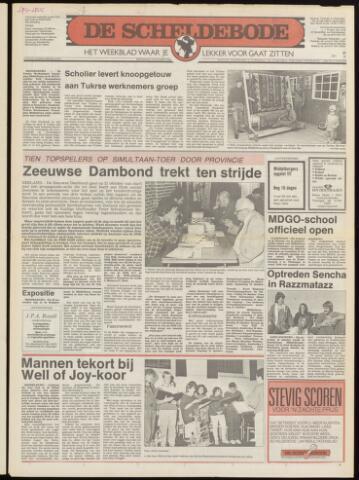 Scheldebode 1986-10-16