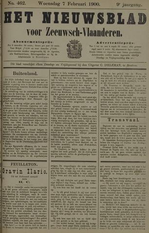 Nieuwsblad voor Zeeuwsch-Vlaanderen 1900-02-07