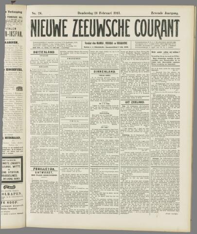 Nieuwe Zeeuwsche Courant 1911-02-23