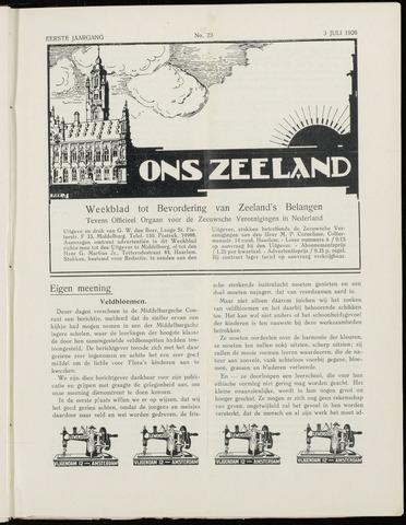 Ons Zeeland / Zeeuwsche editie 1926-07-03