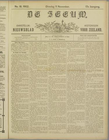 De Zeeuw. Christelijk-historisch nieuwsblad voor Zeeland 1902-11-11