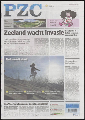 Provinciale Zeeuwse Courant 2014-06-06