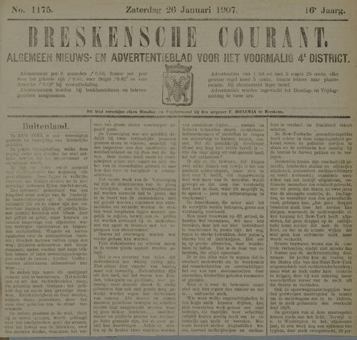 Breskensche Courant 1907-01-26