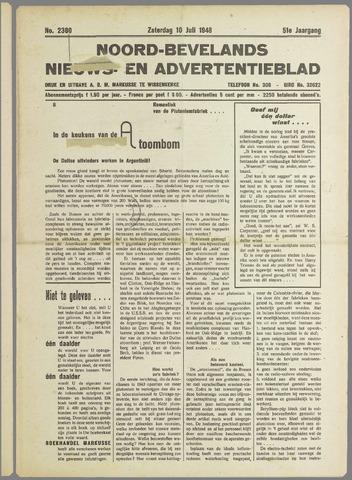 Noord-Bevelands Nieuws- en advertentieblad 1948-07-10