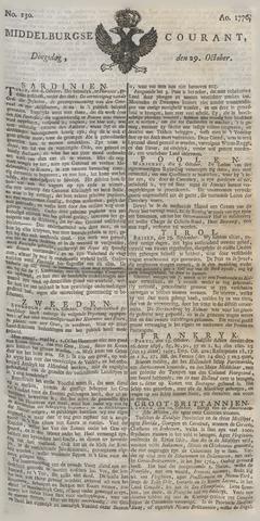 Middelburgsche Courant 1776-10-29