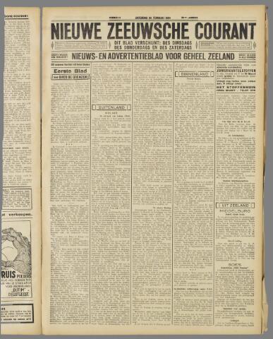 Nieuwe Zeeuwsche Courant 1934-02-24