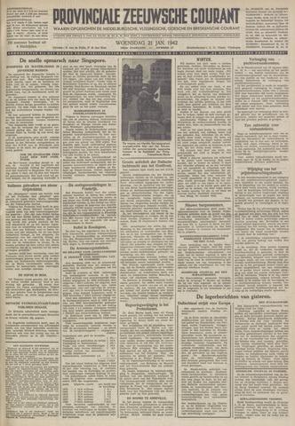 Provinciale Zeeuwse Courant 1942-01-21