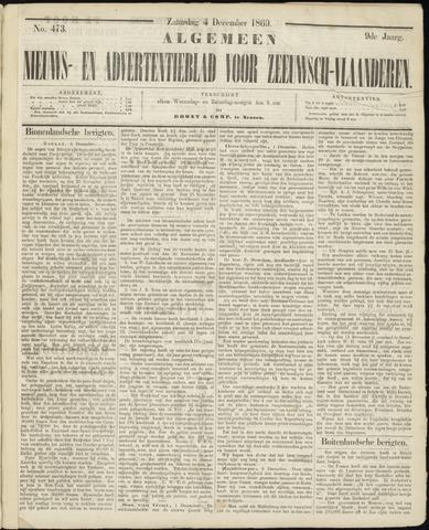 Ter Neuzensche Courant. Algemeen Nieuws- en Advertentieblad voor Zeeuwsch-Vlaanderen / Neuzensche Courant ... (idem) / (Algemeen) nieuws en advertentieblad voor Zeeuwsch-Vlaanderen 1869-12-04