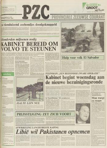Provinciale Zeeuwse Courant 1981-03-14