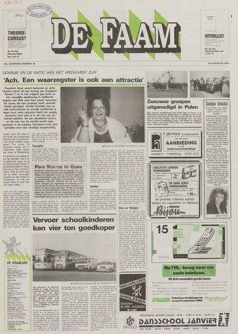 de Faam en de Faam/de Vlissinger 1992-08-26